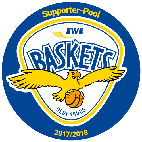 Wir sponsoren die EWE Baskets.